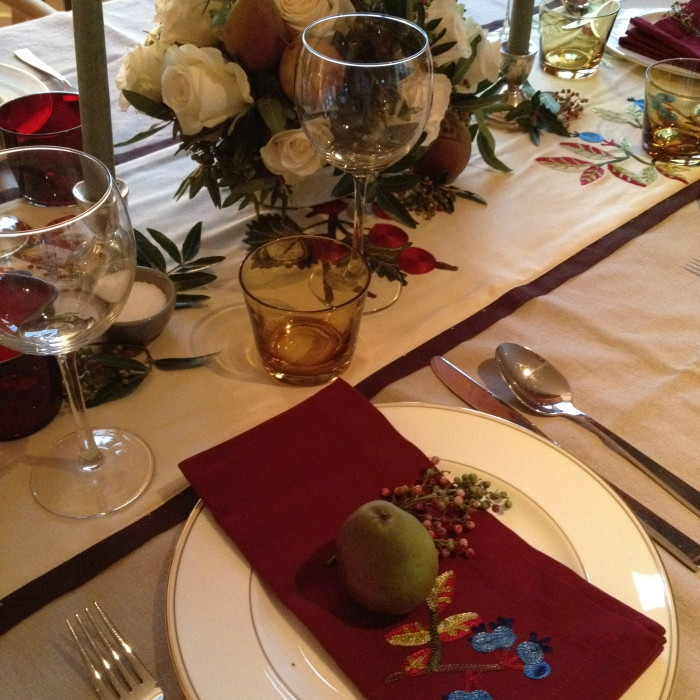 thankful table-scape